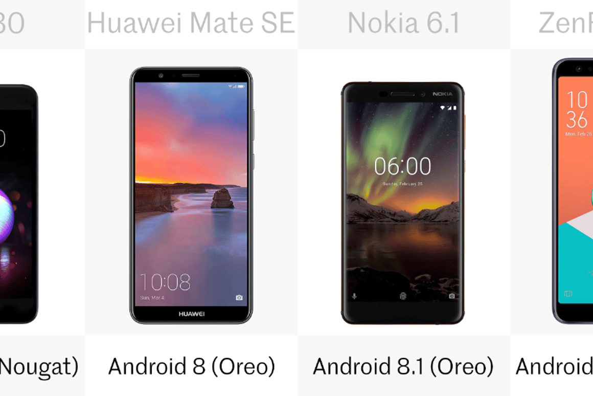 Comparing the 6 best phones you can buy for less than US$300
