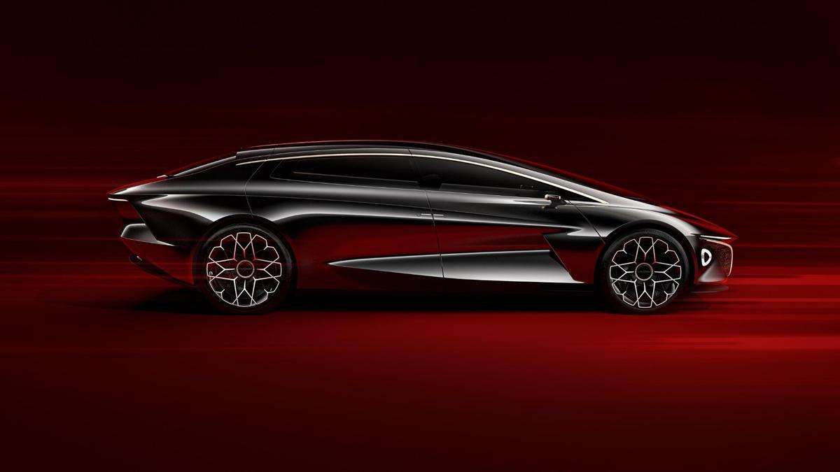 Aston Martin says that it's worked to create a design that is shorter and lower than the typical car