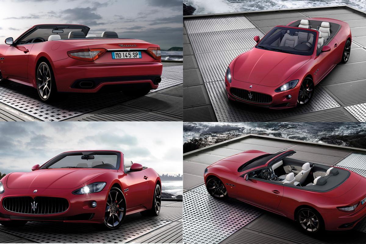 Maserati's new 285 km/h Grancabrio Sport