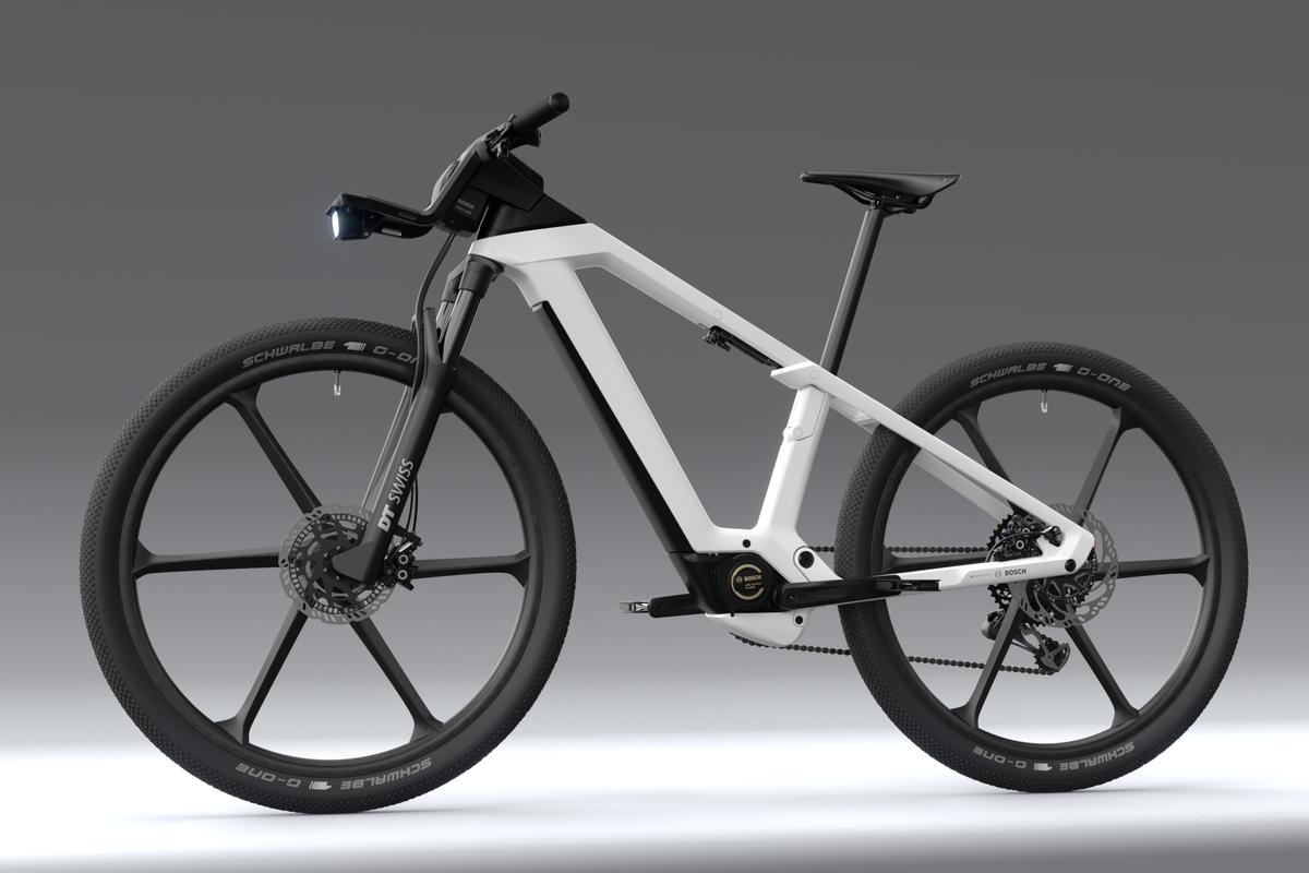 The eBike Design Vision is intended for both on- and off-road use