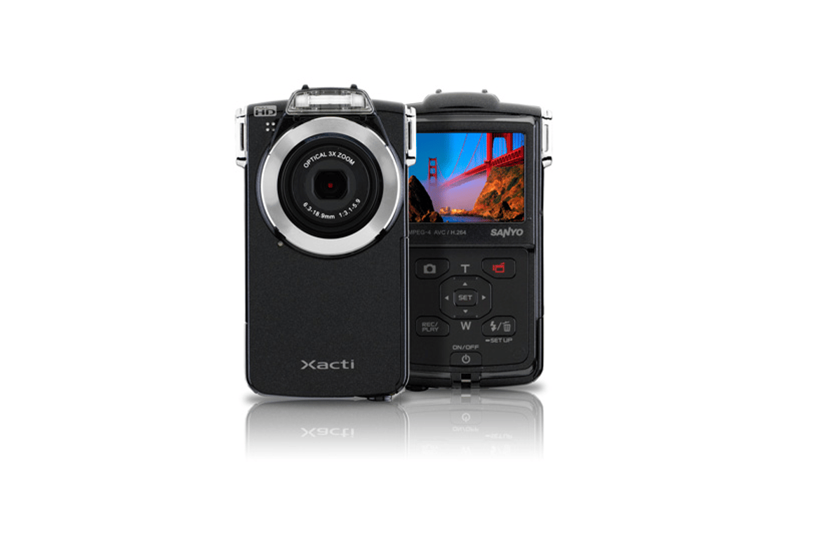 Sanyo's VPC-PD2BK Full HD 1080 Pocket Movie Dual Camera
