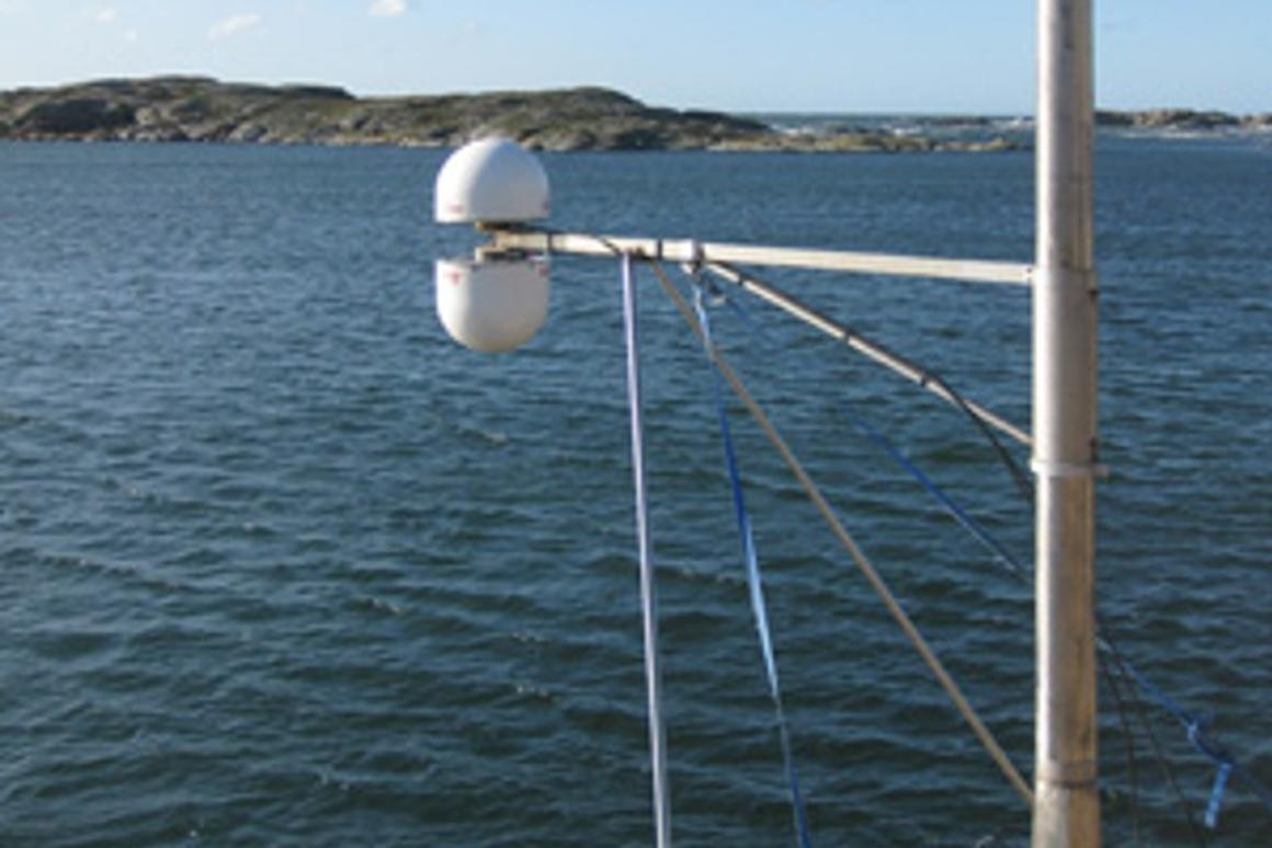 The Chalmers system uses satnav signals to measure sea level
