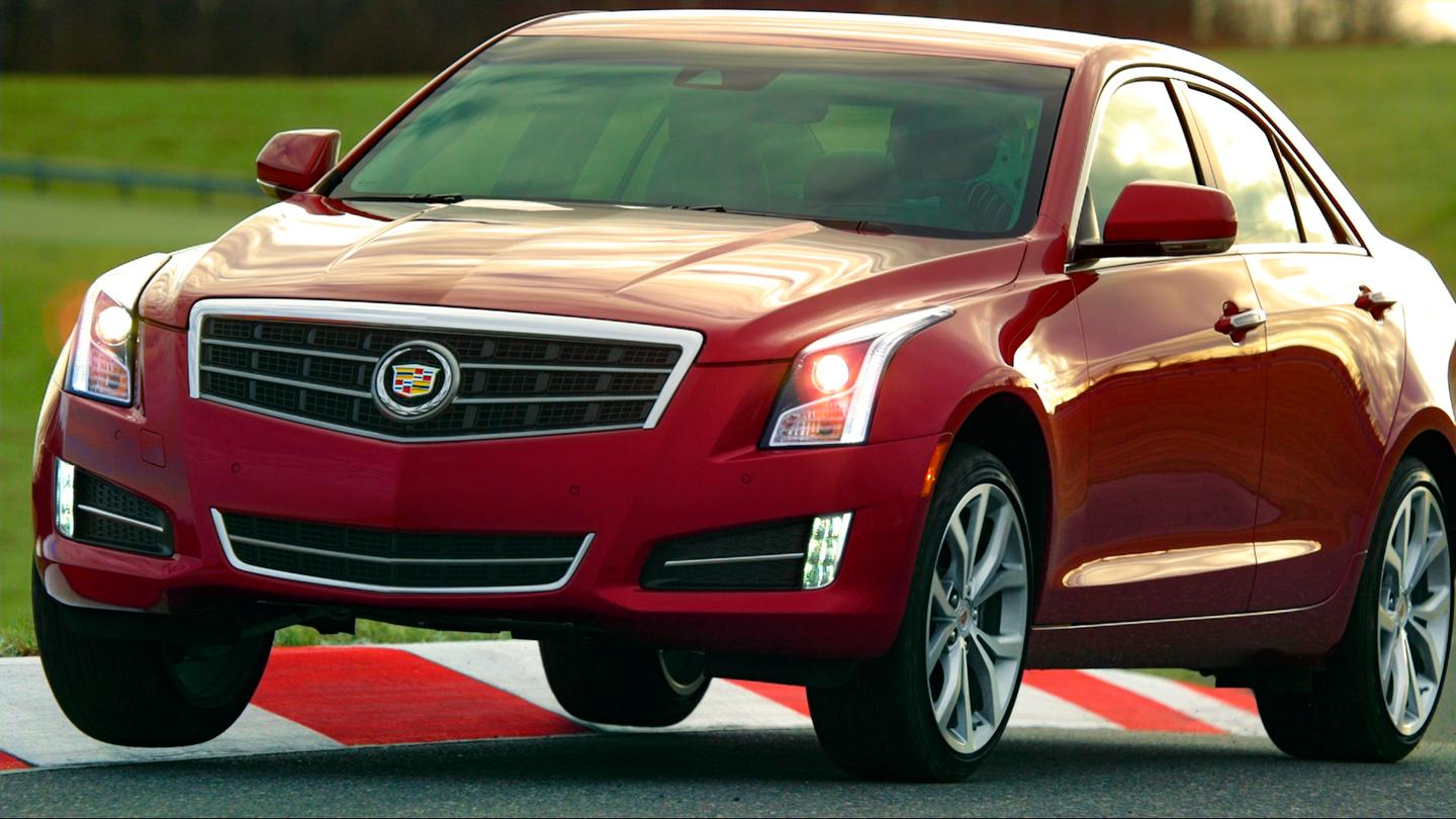 The Cadillac ATS compact sedan will make its European debut in Geneva
