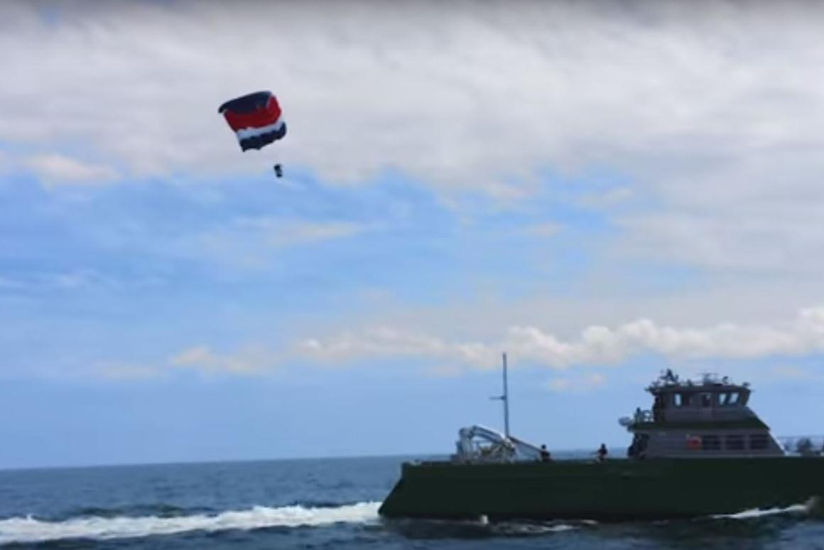 The DARPA TALONS project recently underwent sea trials