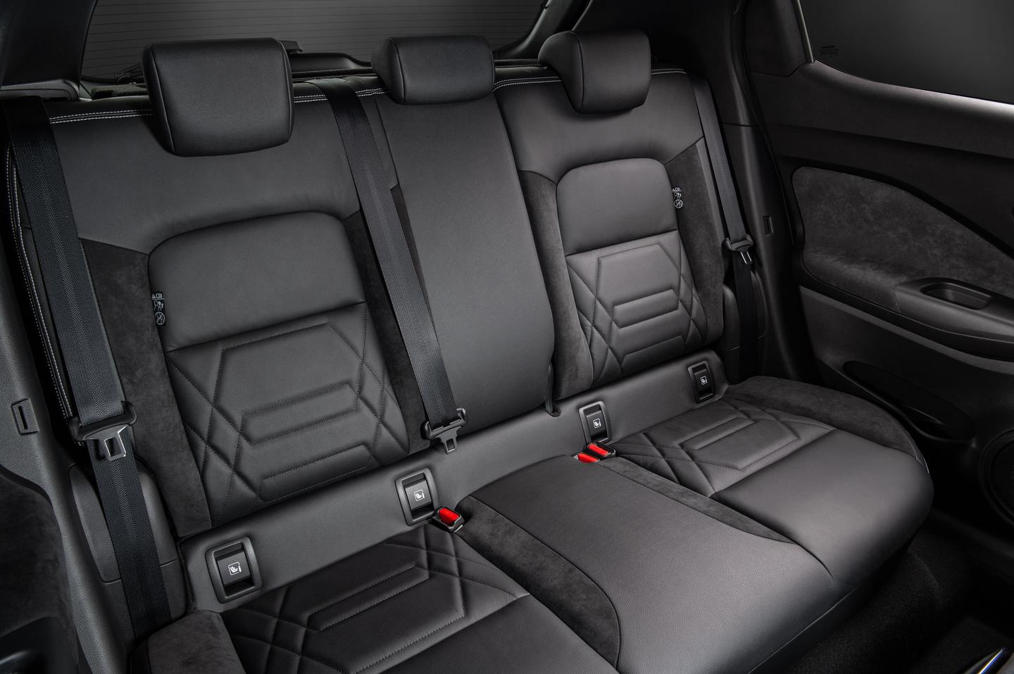 Back seats have a couple inches more legroom