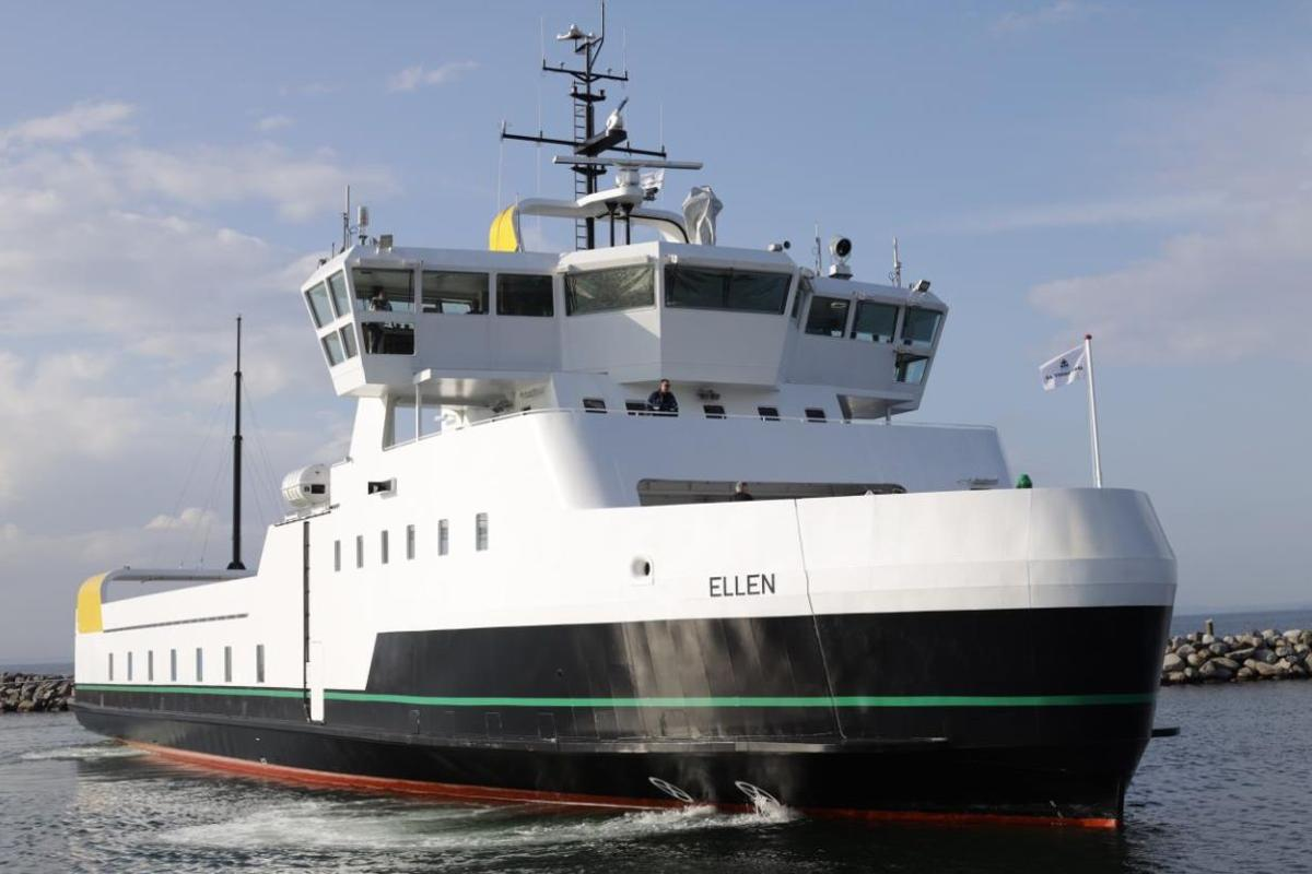 Ellen will go into service at the beginning of September