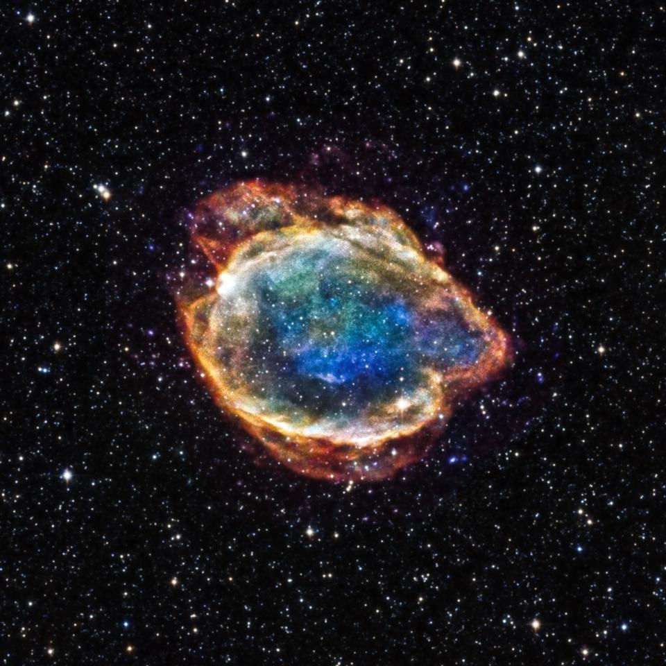 An example of a Type Ia supernova, named G299