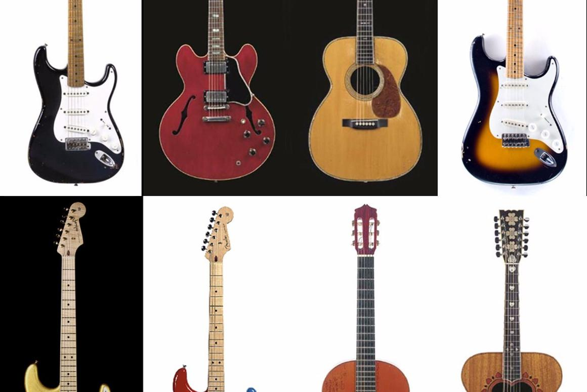 $150,000 Martin 000-45 leads sale of 29 Clapton guitars