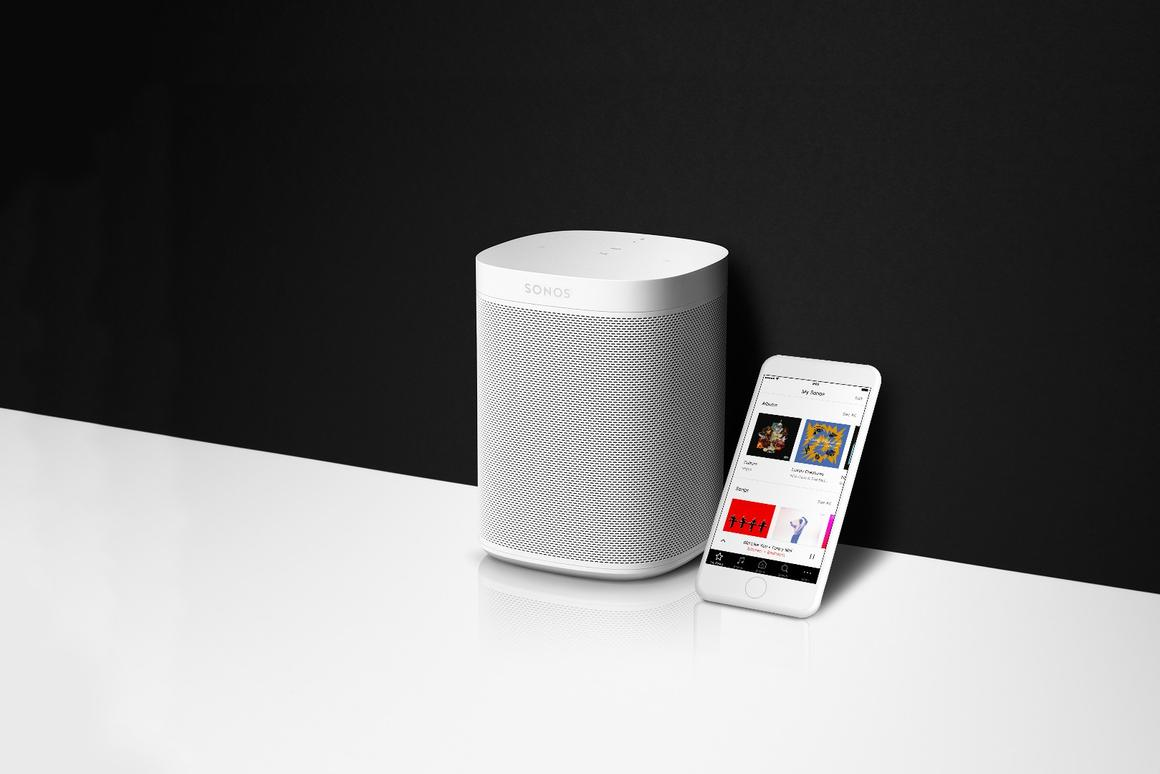 The new Sonos One speaker has Amazon Alexa built in