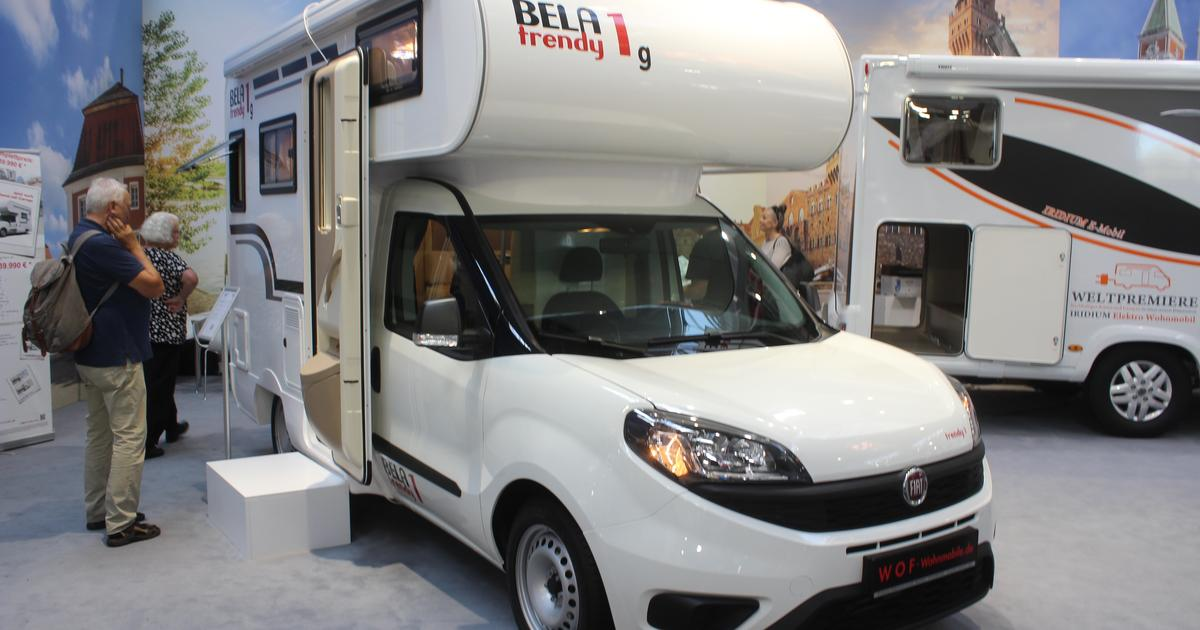 Trendy mini-motorhome is an alcove-topped camper van alternative