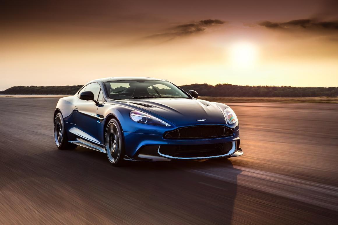 The new Aston MartinVanquishS