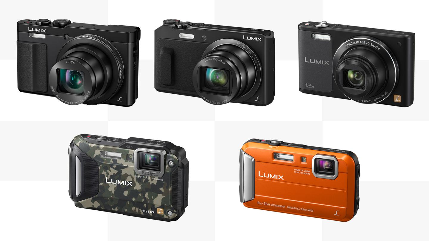 Panasonic has revealed a selection of new compact Lumix cameras for 2015