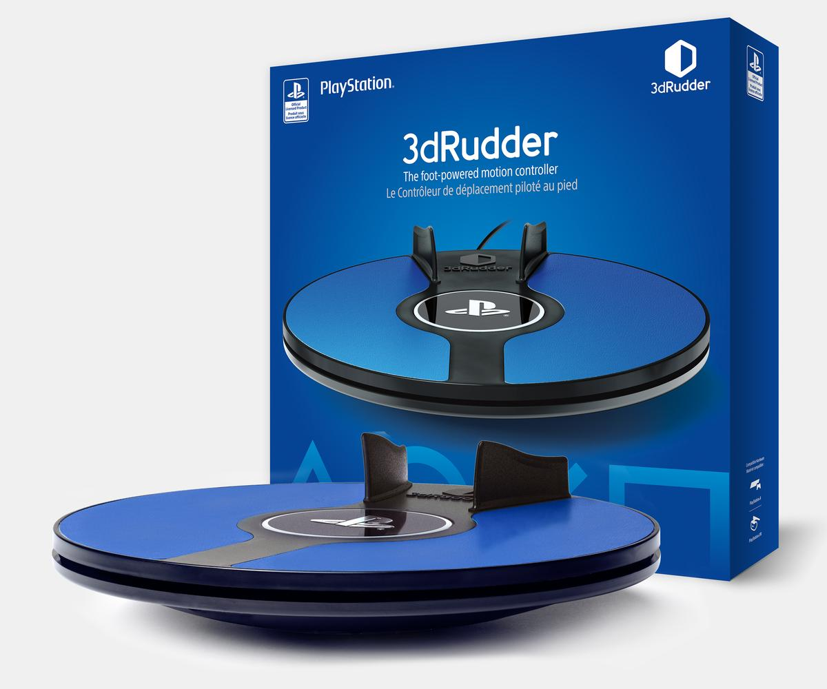 The 3dRudder launches in the US and Canada on September 4, and will cost US$119 (CAD 159)