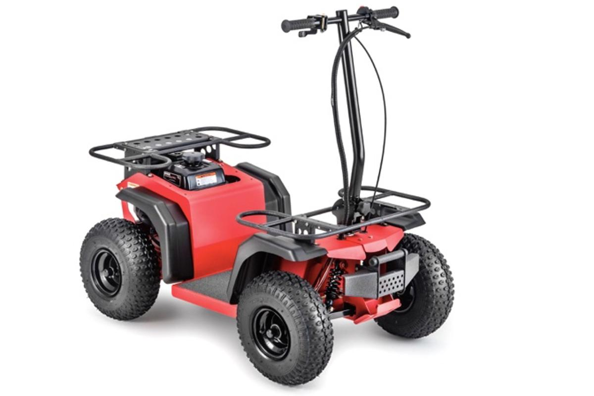 The Ripper ATV is intended for applications such as getting around farms, ranches or campgrounds, or for reaching hunting/fishing spots