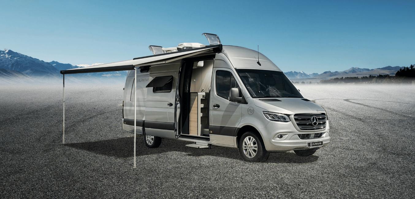 The Alphavan debuts as an XL but lightweight premium camper van
