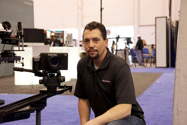 The TS3 Cine being demonstrated at NAB 2011 recently