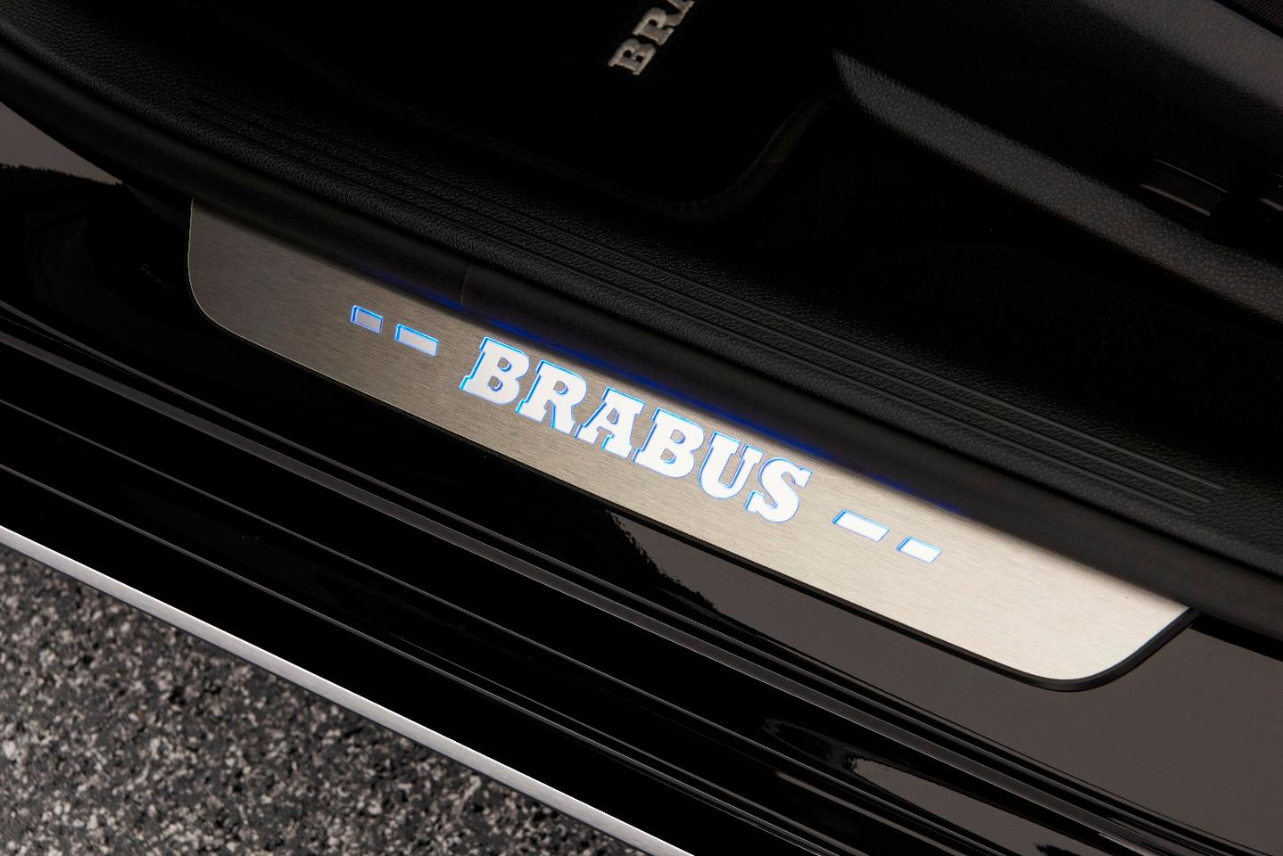 Just in case you weren't sure this is a Brabus...