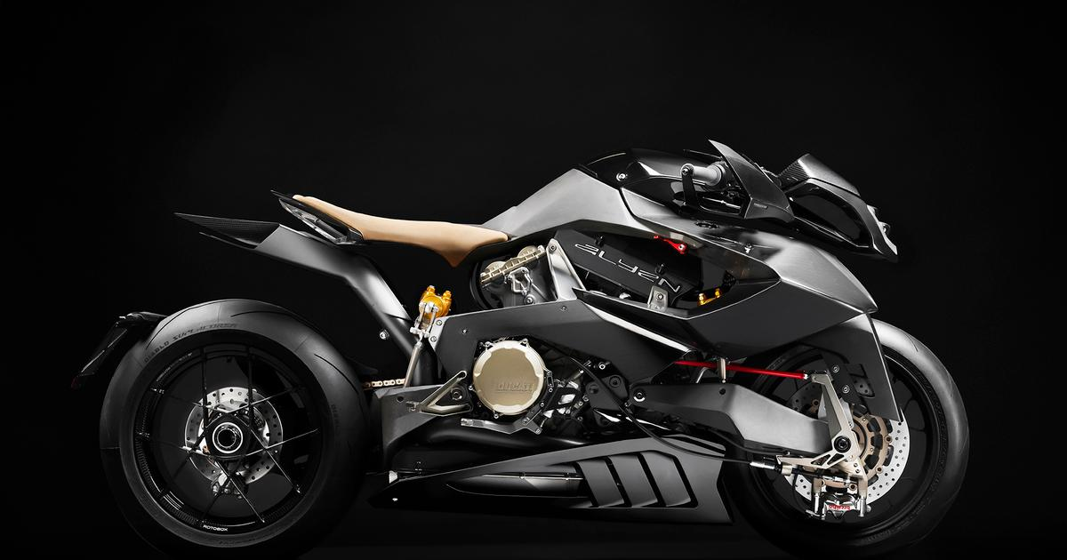 Vyrus returns with the 202-horsepower, Ducati-powered Alyen motorcycle