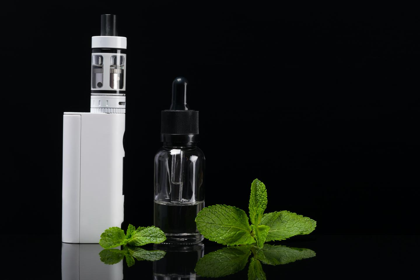 A chemical banned as a food additive by the FDA last year has been found in a number of e-cigarette liquids