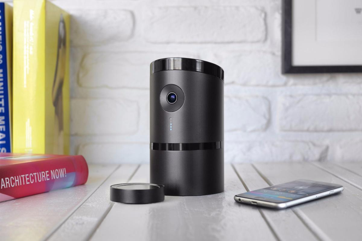 The Angee home security system is designed to be set up and forgotten