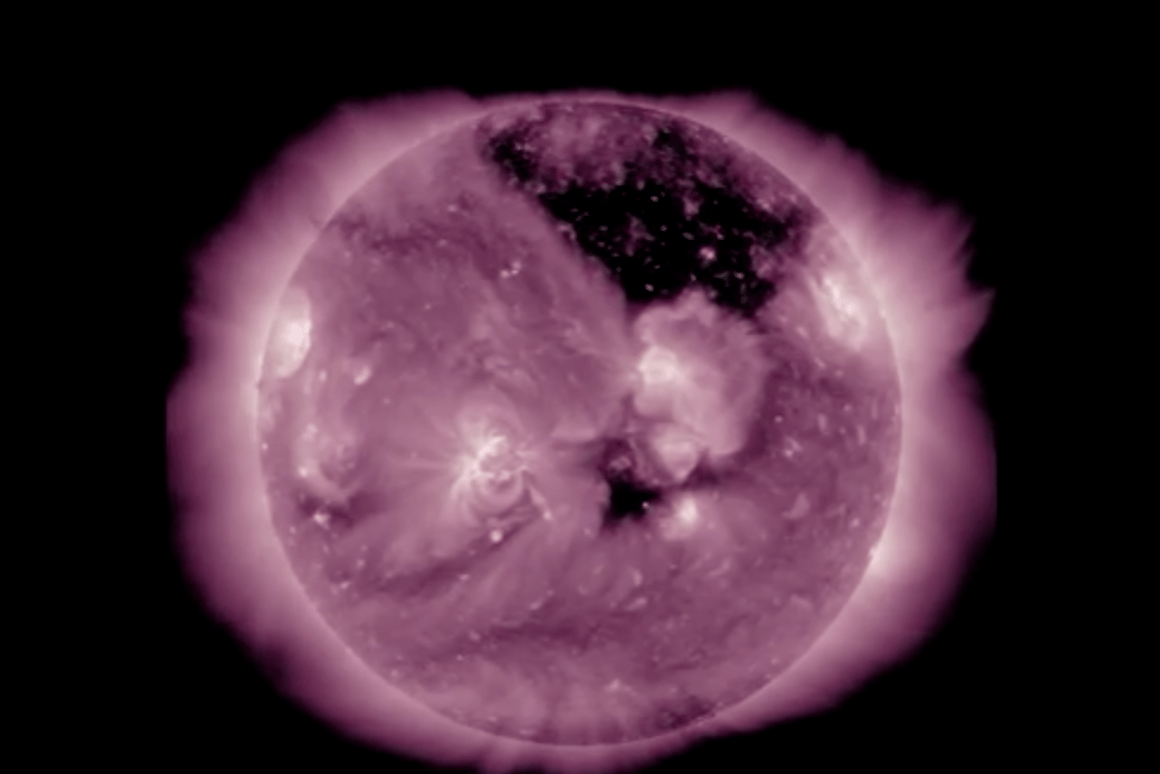 Although we're not sure what causes them, coronal holes can have a dramatic impact on our magnetosphere
