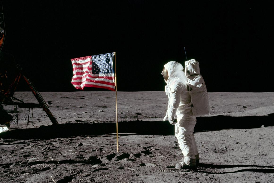 Buzz Aldrin at Tranquility Base (Photo: NASA)