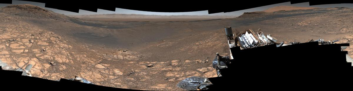 A 1.8-billion-pixel panorama of Mars, the most detailed ever captured by NASA's Curiosity rover