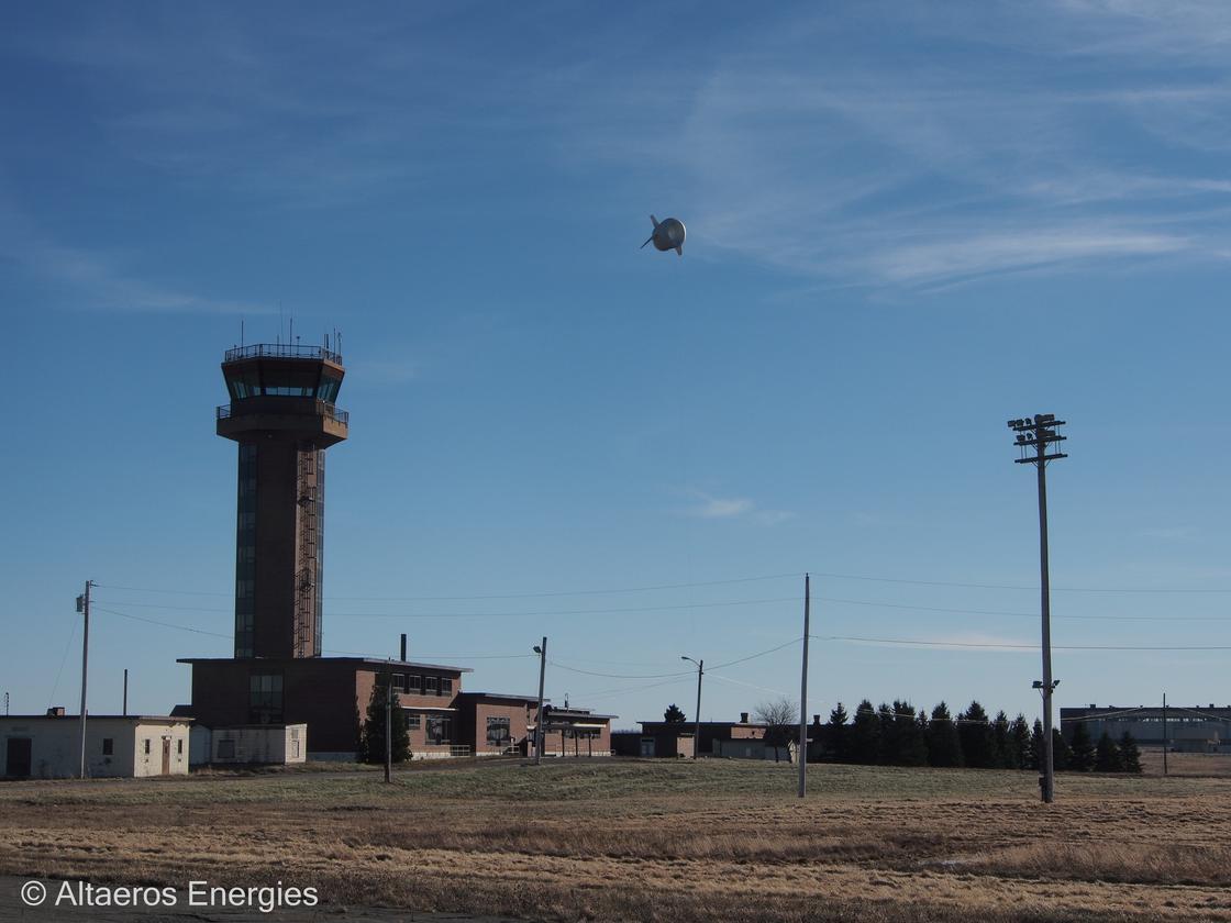 The Buoyant Air Turbine, from Altaeros Energies