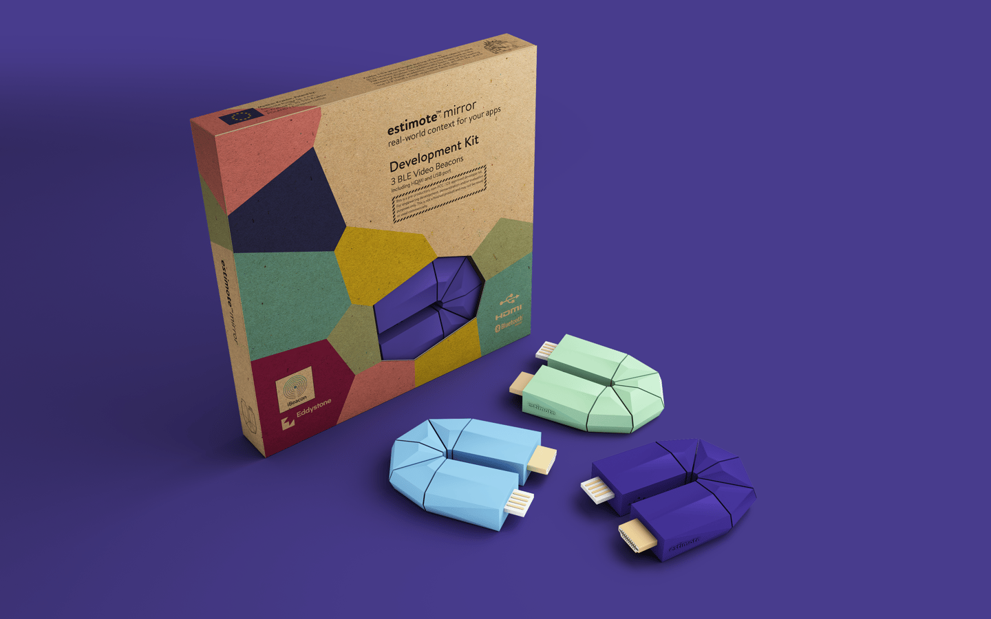 The Estimote Mirror developer kit will ship in Northern Hemisphere winter
