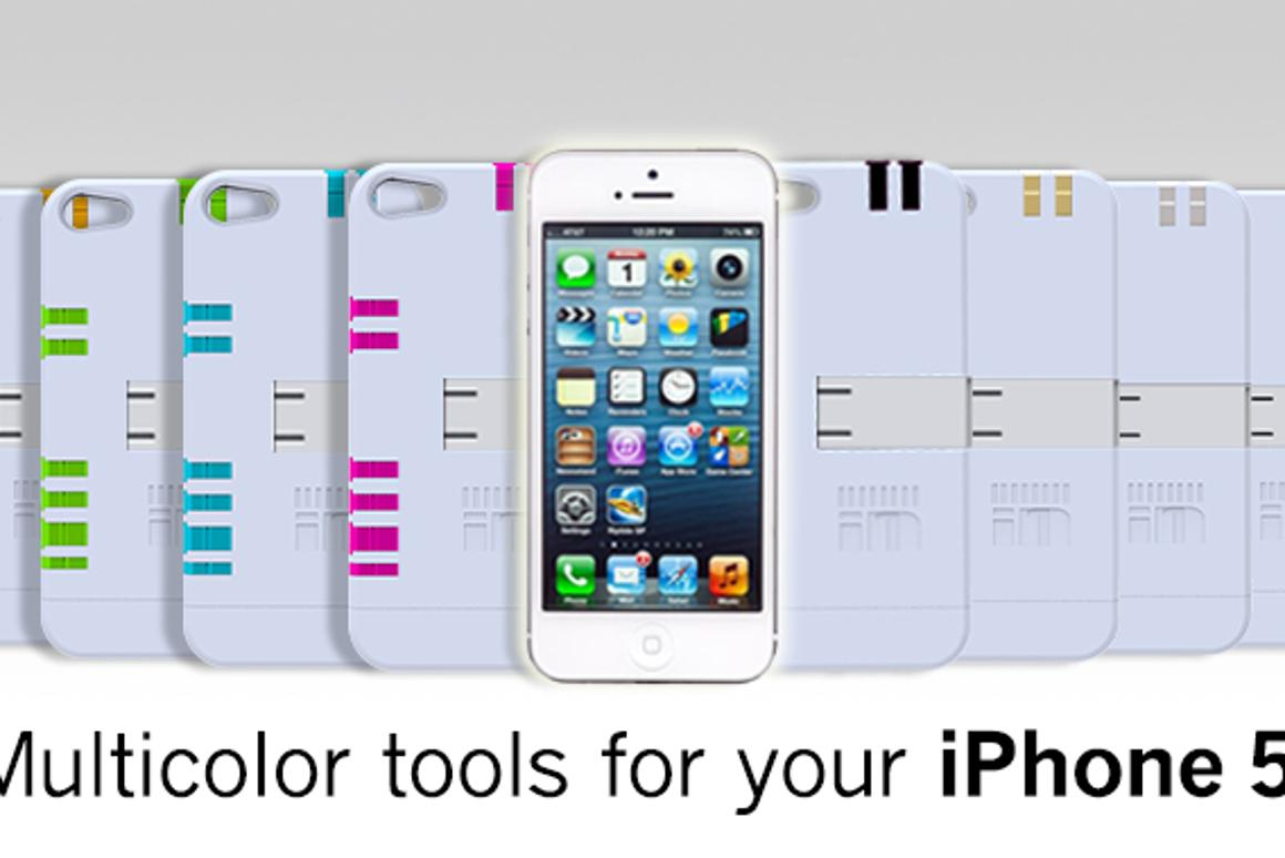 The IN1 iPhone case comes in a range of colors to suit all tastes