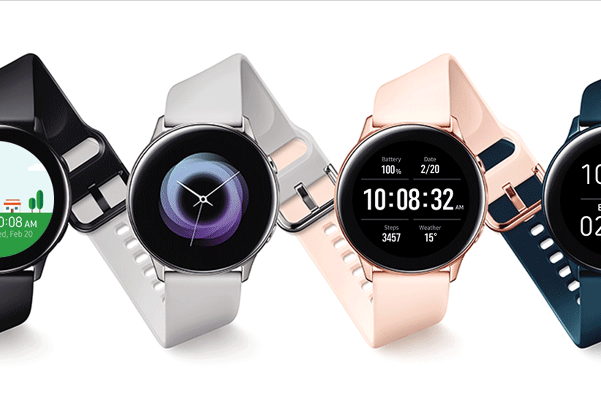 Samsung's new Galaxy Watch Active will be available fromMarch 8
