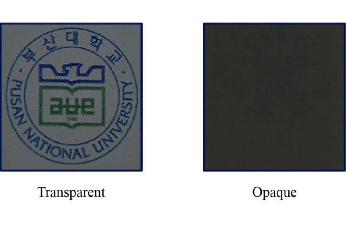 A new type of shutter could find use in displays that turn transparent at the flip of a switch (Image: AIP)