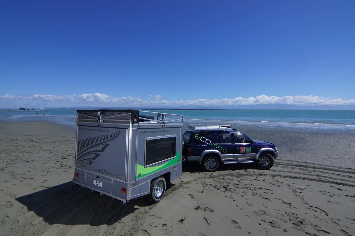 The Ecombo camping trailer is designed for all types of adventure