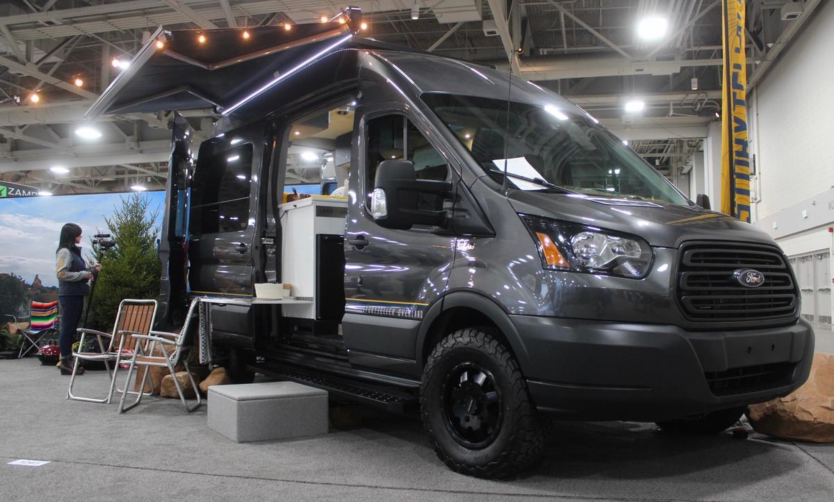 Storyteller debuts its Ford Transit-based Mode 4x4 at RVX 2019