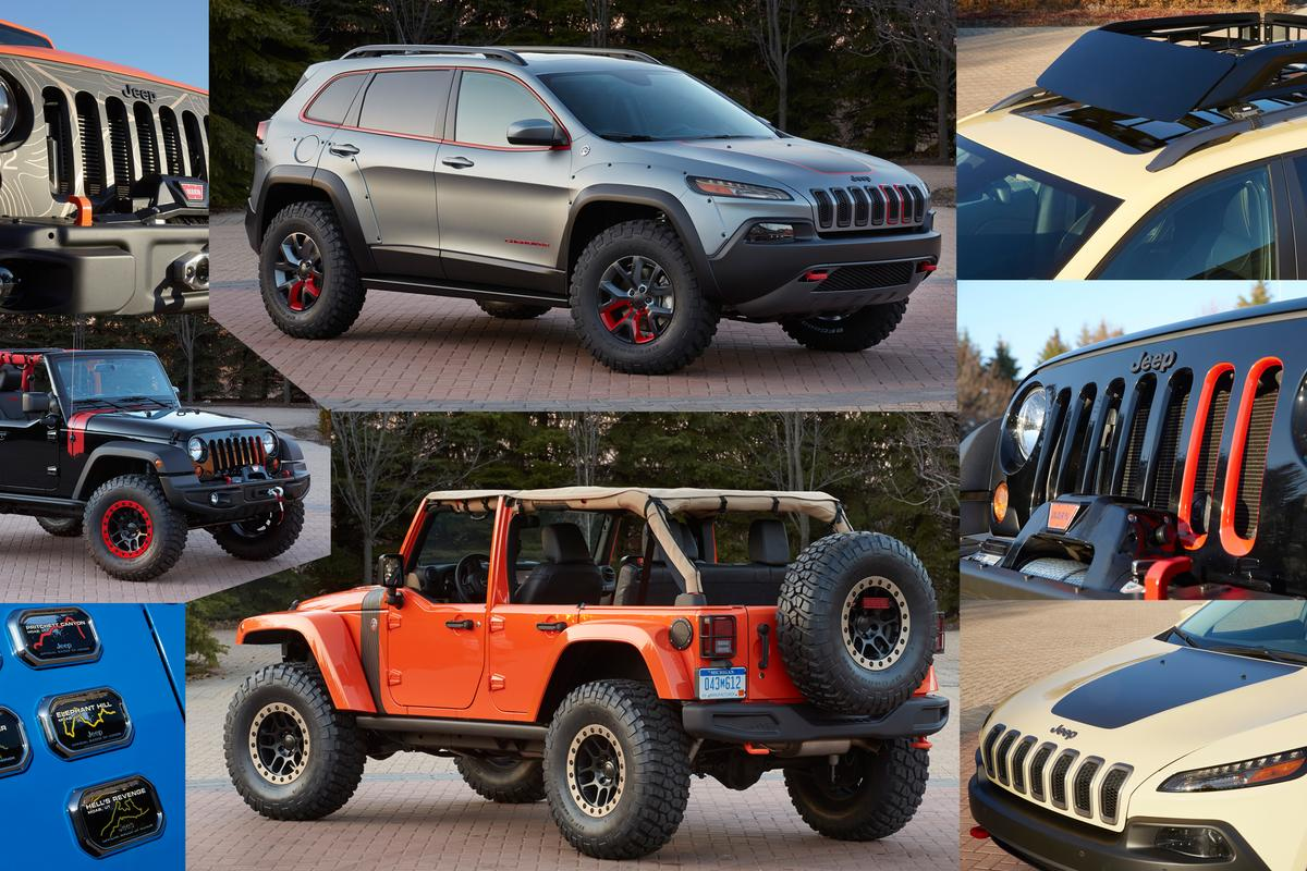2014 Jeep Safari concepts for the annual Easter Jeep Safari