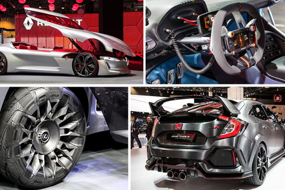 Highlights from the 2016 Paris MotorShow