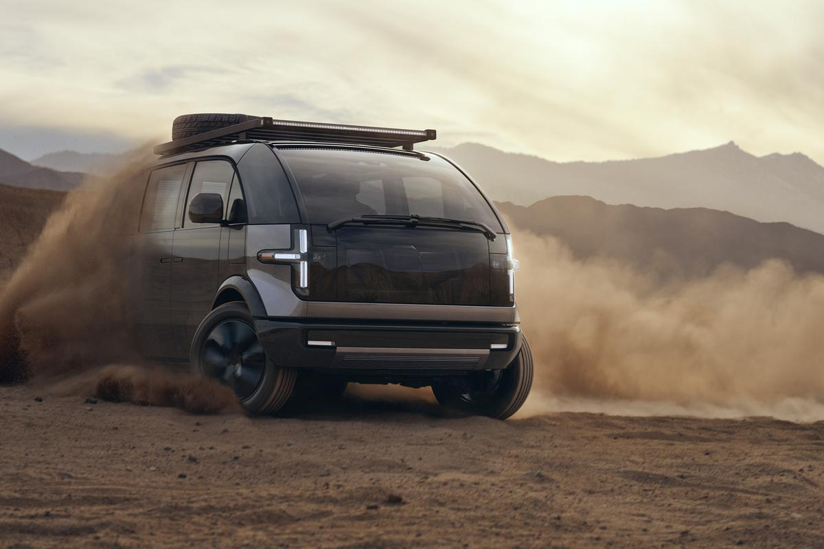 """Canoo is offering its Lifestyle Vehicle in an """"adventure"""" trim"""