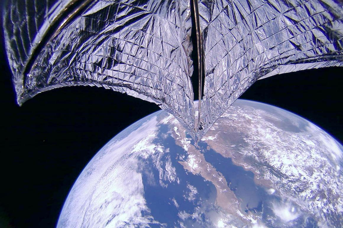 The LightSail 2 deployed its solar sail last week