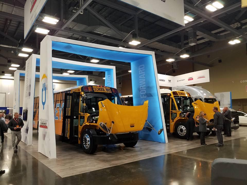 Thomas Built Buses's electric school bus will begin series production in 2019