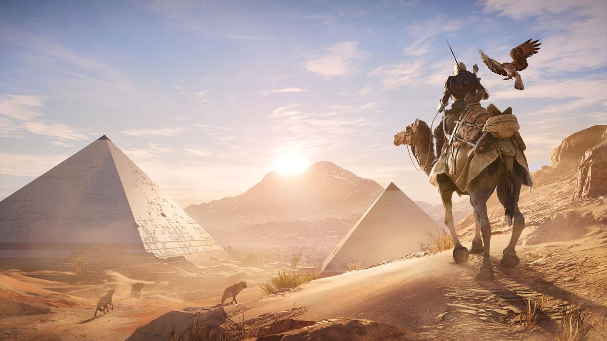 Assassin's Creed: Origins now lets you explore its painstakingly recreated Ancient Egypt in an educational Discovery Tour mode