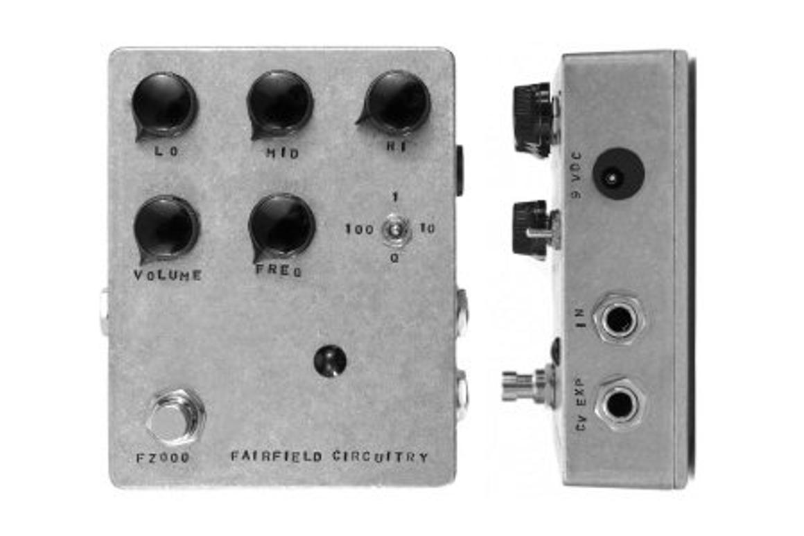 Fairfield Circuitry's new Four Eyes Crossover Fuzz pedal doesn't just add distortion to an input signal, it gives a user supreme tone control too