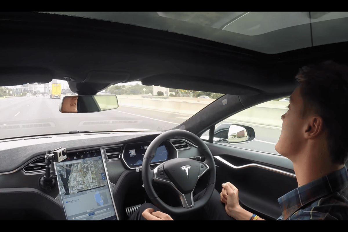 Autopilot is perfectly competent in most conditions, although drivers still need to be alert behind the wheel