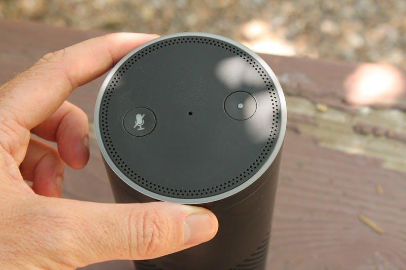 The light ring on top of Alexa flashes green when you receive a call