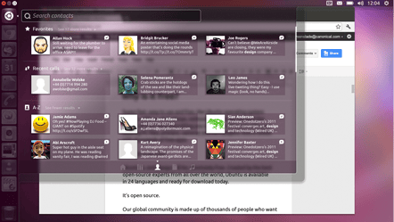 Ubuntu for Android offers unique experiences for Ubuntu users.