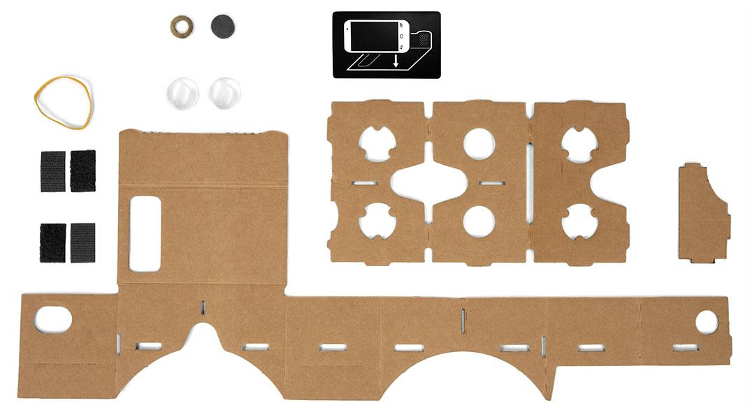 This is all you need to make your own virtual reality headset (well, apart from an Android phone)