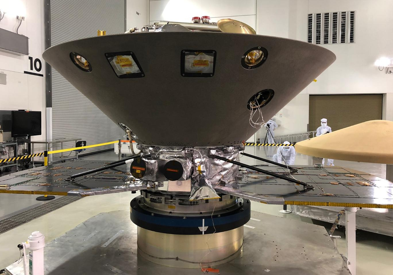 NASA's InSight to Mars undergoes final preparations at Vandenberg AFBahead of its May 5 launch date