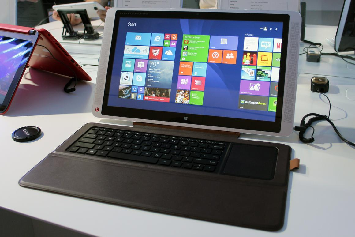 HP's new Envy x2 hybrids offer a range of form-factors in one package (Photo: Chris Wood/Gizmag.com)