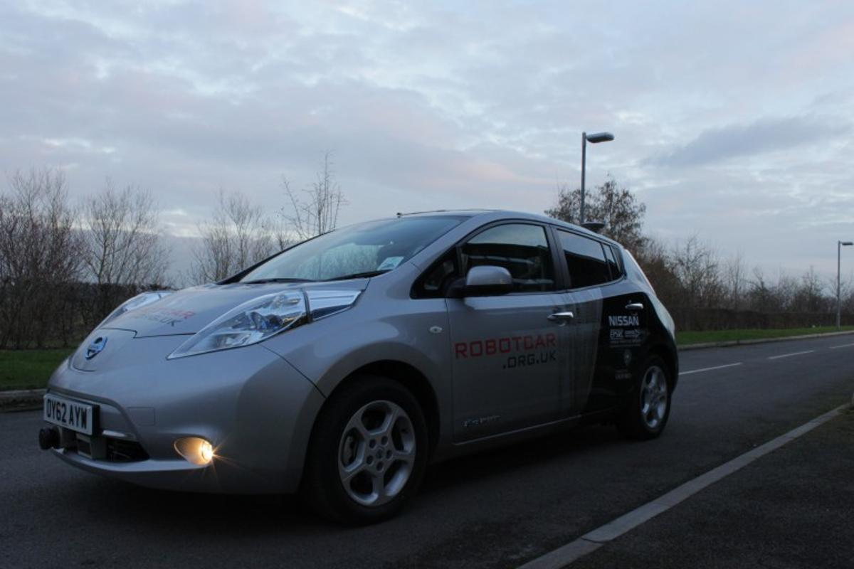 The Mobile Robotics Group's autonomous Nissan Leaf