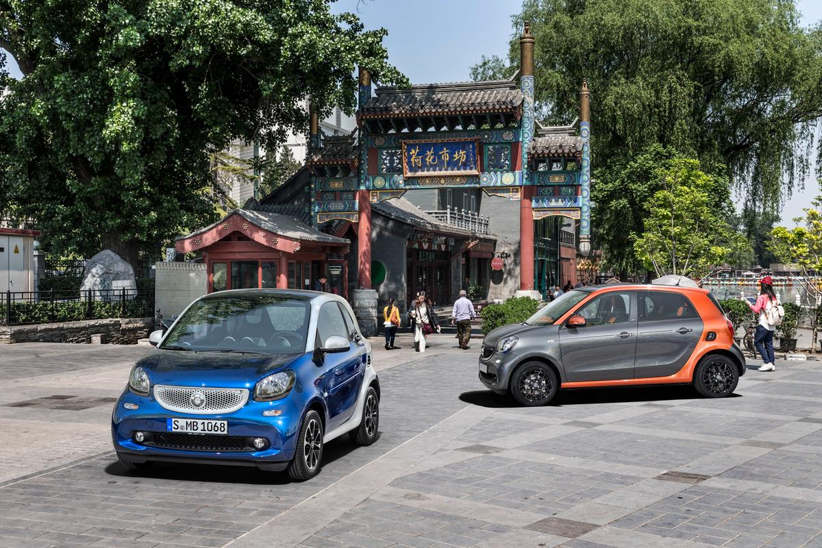 The smart forfour and fortwo enter their third generation with a new design and new engines