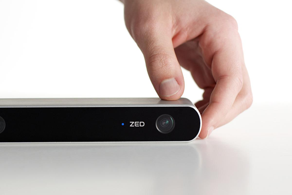 The ZED 3D camera is a light weight, low cost, high quality 3D camera with a variety of uses